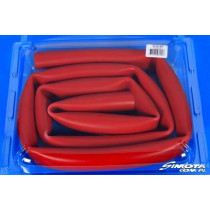 Univerzális silicone cső 28x34x212 cm Piros